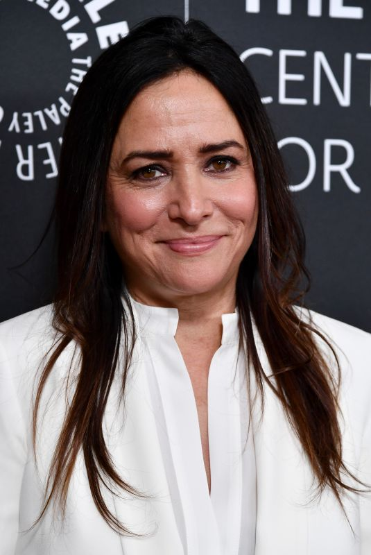 PAMELA ADLON at Women in TV Gala in Los Angeles 10/12/2017