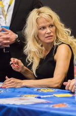 PAMELA ANDERSON at German Comic-con in Berlin 10/01/2017