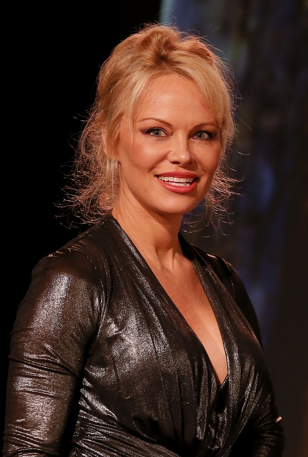PAMELA ANDERSON at Sea Shepard 40th Anniversary in ... Pamela Anderson