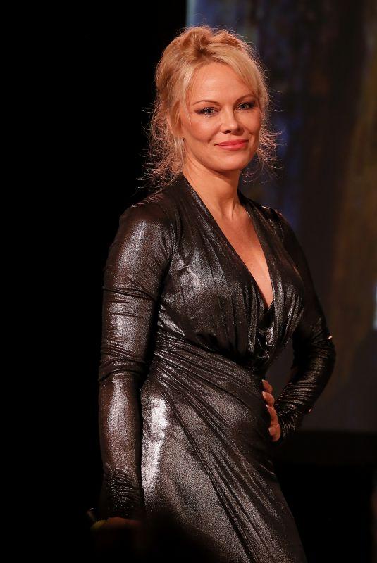 PAMELA ANDERSON at Sea Shepard 40th Anniversary in Bordeaux 10/14/2017