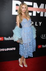 PARIS HILTON at Demi Lovato: Simply Complicated Youtube Premiere in Los Angeles 10/11/2017
