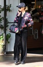 PARIS HILTON Out Shopping at Beverly Glen Mall 10/02/2017