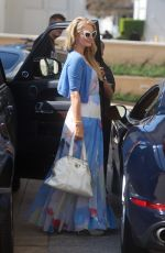 PARIS HILTON Shopping at Barneys New York in Beverly Hills 10/13/2017