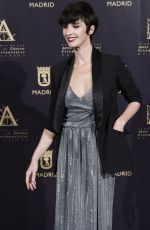 PAZ VEGA at Academy of Motion Picture Arts and Sciences Photocall in Madrid 10/09/2017