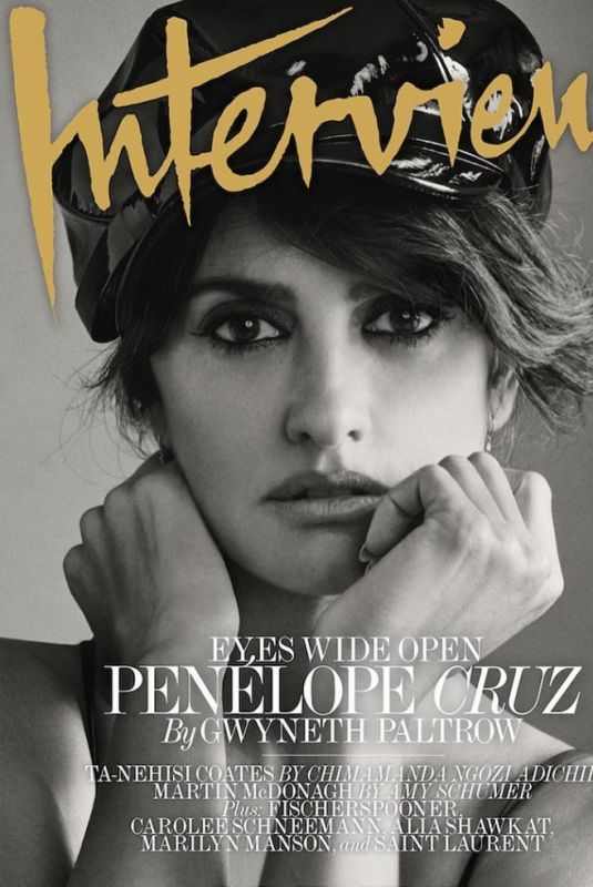 PENELOPE CRUZ for Interview Magazine, October 2017