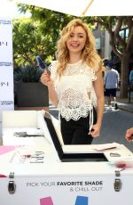 PEYTON ROI LIST at Opi Sets Guniness World Record for Longest Manicure Bar in Santa Monica 10/22/2017