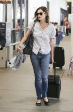 PHOEBE TONKIN at Los Angeles International Airport 10/07/2017