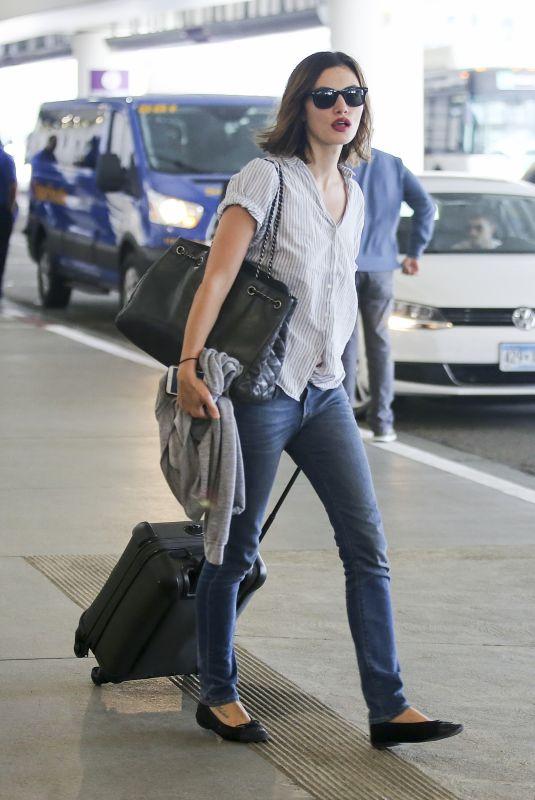 PHOEBE TONKIN at Los Angeles International Airport 10/07/2017