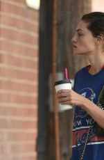 PHOEBE TONKIN Heading to a Gym in Los Angeles 10/21/2017