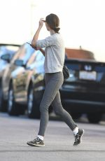 PHOEBE TONKIN Heading to a Gym in Los Angeles 10/28/2017