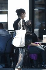 PHOEBE TONKIN Out for Lunch in Los Angeles 10/28/2017