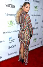 PIA TOSCANO at Imagine Ball in Los Angeles 10/12/2017