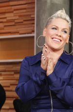 PINK Performs at Good Morning America 10/16/2017