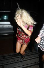 PIXIE LOTT Leaves Mahiki Nightclub in Manchester 10/05/2017