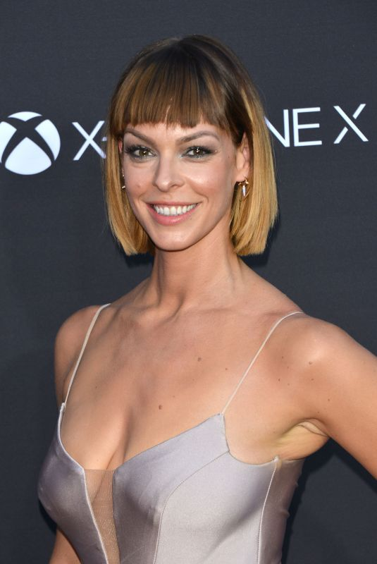 POLLYANNA MCINTOSH at The Walking Dead, Season 8 Premiere in Los Angeles 10/22/2017