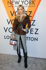POM KLEMENTIEFF at Volez, Voguez, Voyagez: Louis Vuitton Exhibition Opening in New York 10/26/2017