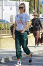 Pregnant BEHATI PRINSLOO Shopping at Farmers Market in Beverly Hills 10/01/2017