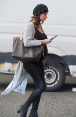 Pregnant FERNE MCCANN Out and About in Liverpool 10/17/2017