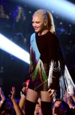 Pregnant GWEN STEFANI Performs at One Coice: Somos Live! a Concert for Disaster Relief in Los Angeles 10/14/2017