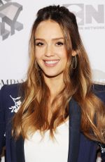 Pregnant JESSICA ALBA at Fast Company Innovation Festival, Passion Play in New York 10/25/2017