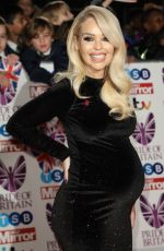 Pregnant KATIE PIPER at Pride of Britain Awards 2017 in London 10/30/2017
