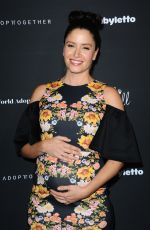 Pregnant MERCEDES MASON at Adopt Together Holds Annual Baby Ball Hosted by Vanessa Lachey and Curtis Stone 10/21/2017