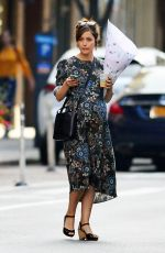 Pregnant ROSE BYRNE Out in New York 10/22/207