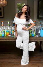 Pregnant ROSELYN SANCHEZ at Baby Shower Bash in Sherman Oaks 09/09/2017
