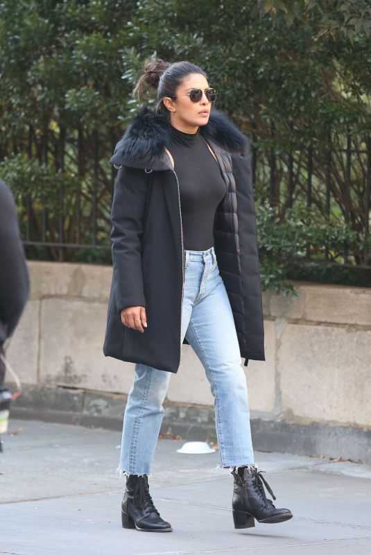 PRIYANKA CHOPRA on the Set of Quantico in New York 10/27/2017