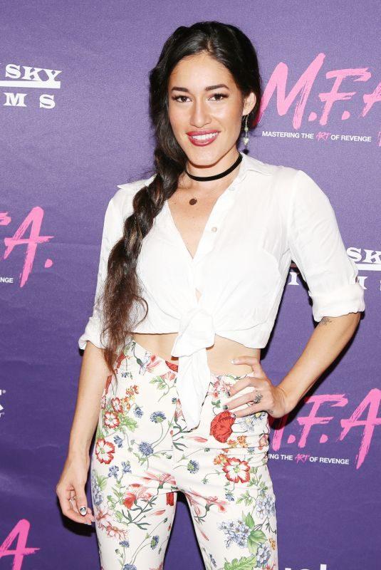 Q'ORIANKA KILCHER at M.F.A. Screening in Los Angeles 10/02/2017