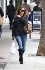 RACHEL BILSON Out and About in Studio City 10/30/2017