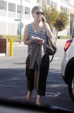 RACHEL BILSON Out for Lunch in Los Angeles 10/09/2017