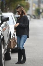 RACHEL BILSON Out for Lunch in Los Angeles 10/30/2017