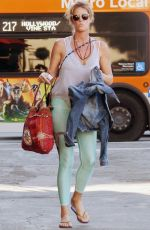 RACHEL HUNTER Out and About in West Hollywood 10/16/2017