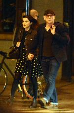 RACHEL WEISZ and Daniel Craig Night Out in New York 10/02/2017
