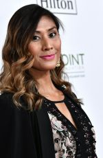 RAIN VALDEZ at Point Honors Gala in Los Angeles 10/07/2017
