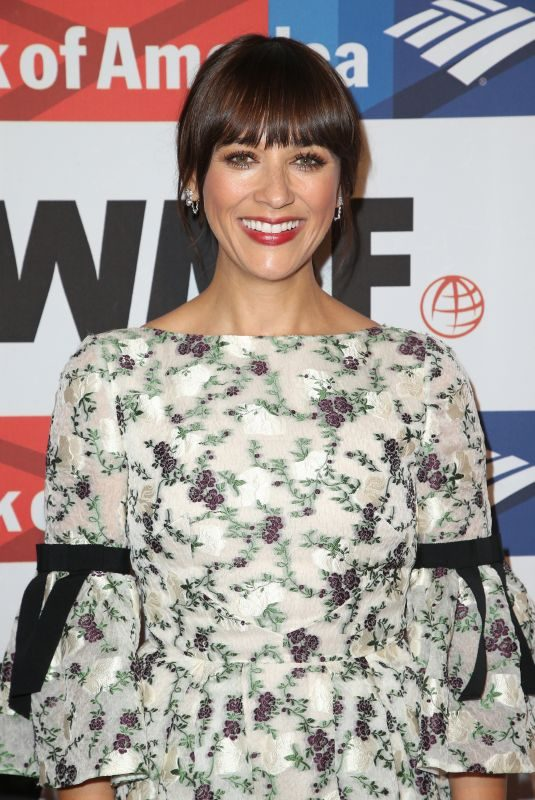 RASHIDA JONES at 2017 Courage in Journalism Awards in Hollywood 10/25/2017