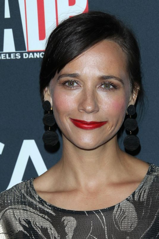 RASHIDA JONES at L.A. Dance Project's Annual Gala in Los Angeles 10/07/2017