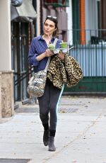 RCHEL WEISZ Makeup Free Out in New York 10/23/2017