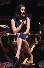 REBECCA HALL at Professor Marston and the Wonder Women Panel at New York Comic-con 10/08/2017