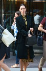REBECCA HALL Out and About in New York 10/11/2017
