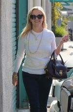 REESE WITHERSPOON Arrives at a Studio in Santa Monica 10/12/2017