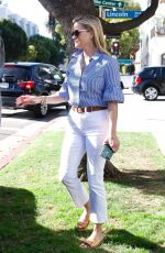 REESE WITHERSPOON Leaves a Business Meeting in Brentwood 10/24/2017