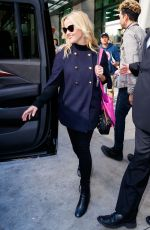 REESE WITHERSPOON Leaves Her Hotel in New York 10/05/2017