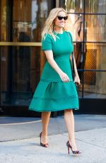 REESE WITHERSPOON Out and About in New York 10/04/2017
