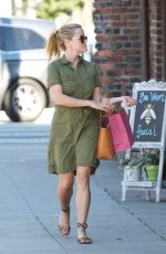 REESE WITHERSPOON Out for a Coffee in Brentwood 10/25/2017