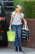 REESE WITHERSPOON Out Shopping in Brentwood 09/30/2017