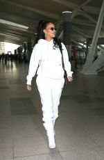 RIHANNA Arrives at JFK Airport in New York 10/13/2017
