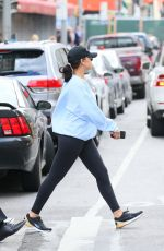 RIHANNA Heading to a Gym in New York 10/12/2017