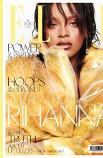 RIHANNA in Elle Magazine, UK October 2017 Issue